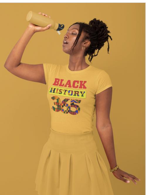 Black History 365 Tee
