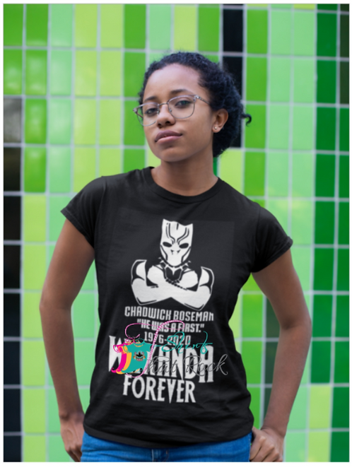 "Wakanda Forever ""He Was A First"" Tee"