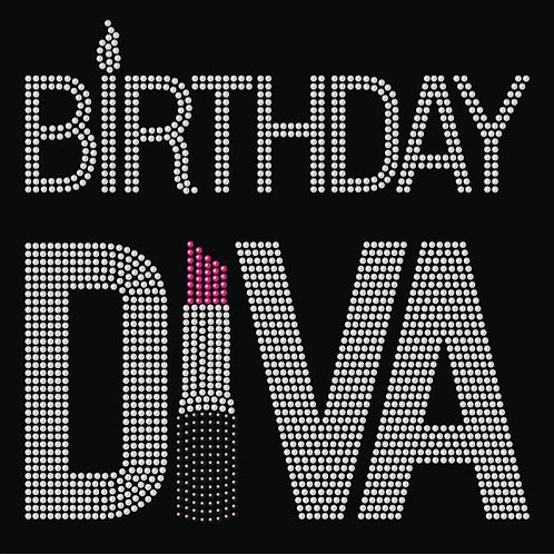 Birthday Diva Tee - © 2018. All Rights Reserved.