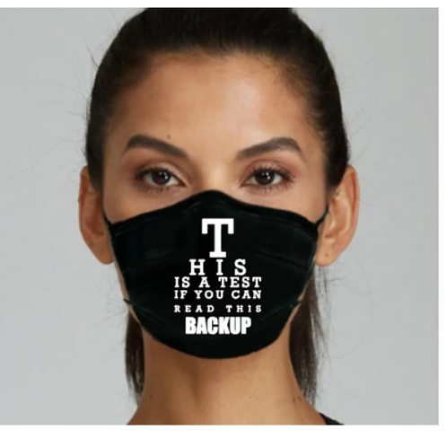 This Is A Test Mask