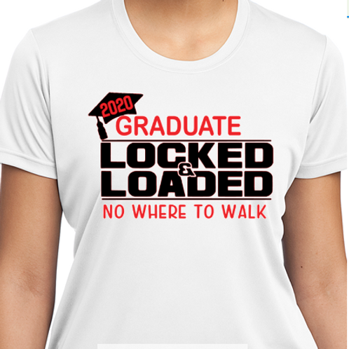 Graduate - Locked & Loaded Tee