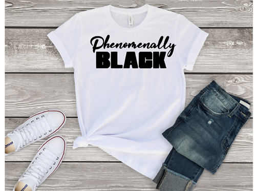 Phenomenally Black Tee