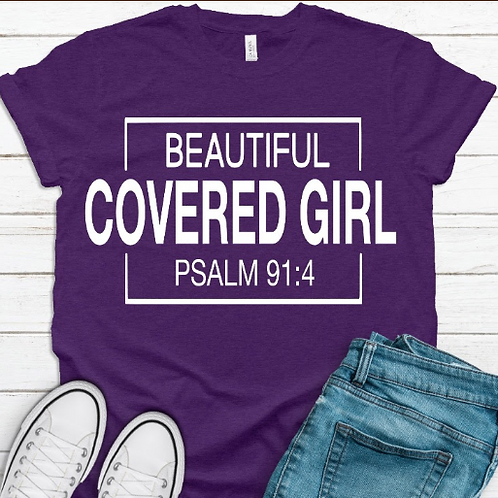 Beautiful Covered Girl Tee