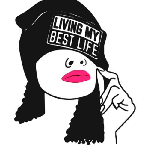 Living My Best Life Vinyl Tee