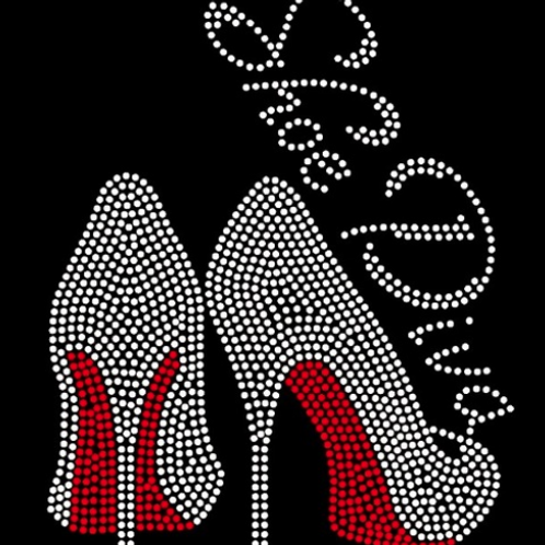 Shoe Diva Red Bottoms Tee