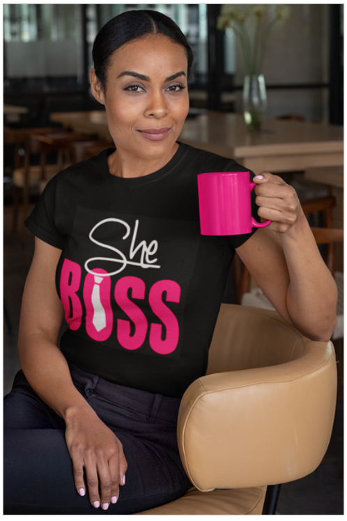 She Boss Tee