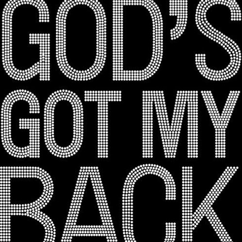 God's Got My Back Tee - © 2018. All Rights Reserved.