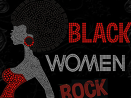 Black Women Rock Afro