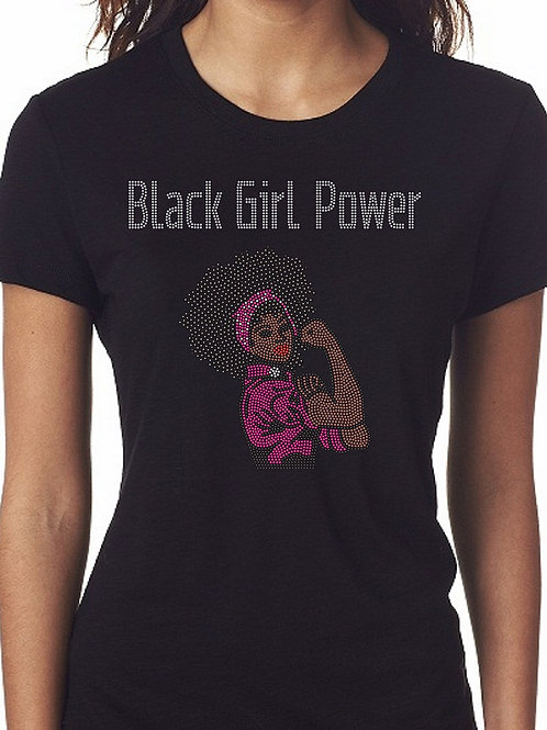 Black Girl Power Tee