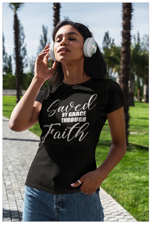 Saved By Grace Through Faith Tee
