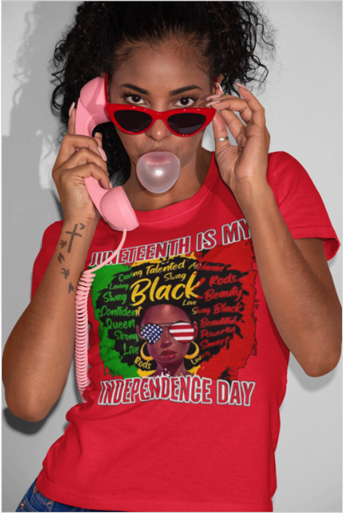 Juneteenth - Independence Day Tee