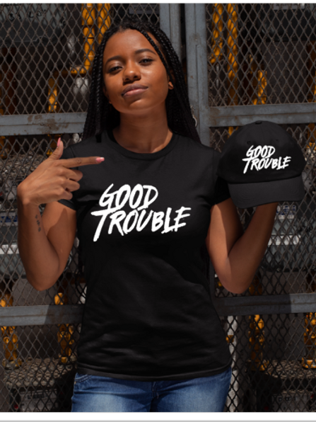 Good Trouble Tee and Cap Set
