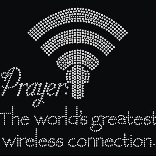 Prayer Wireless Connection Tee - © 2018. All Rights Reserved.