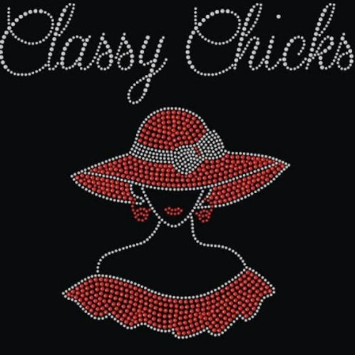 Classy Chicks Red Hat Tee - © 2016. All Rights Reserved.