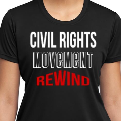 Civil Rights Movement Rewind Tee
