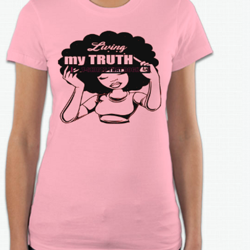 Living My Truth Vinyl Tee