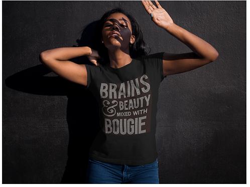 Brains Beauty Bougie Tee