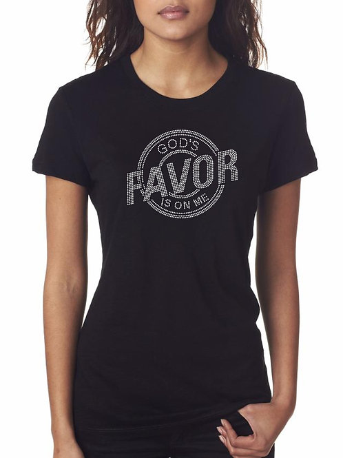 God's Favor Is On Me Tee