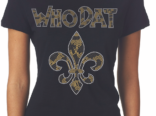 Who Dat Fitted Tee