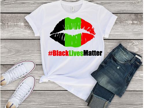 African Lips BLM Tee