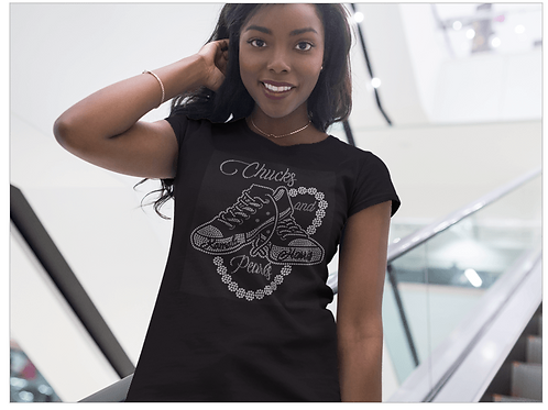 Chucks and Pearls Tee (Limited Time Available)