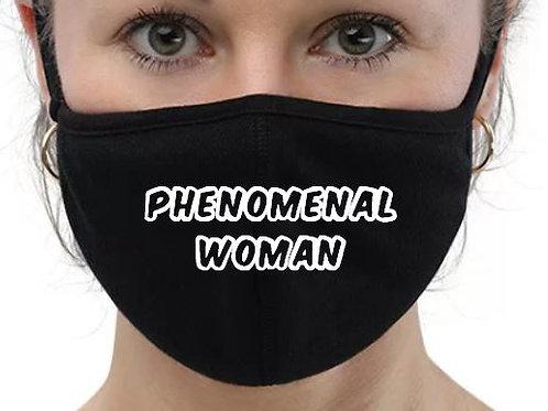 Phenomenal Woman Mask