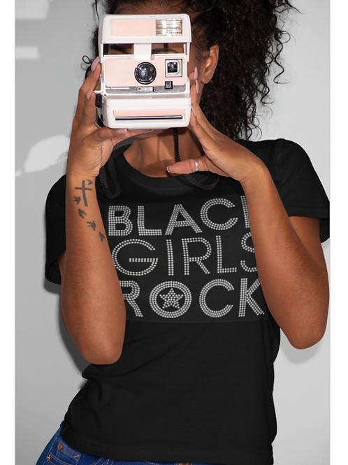 Black Girls Rock Clear Tee