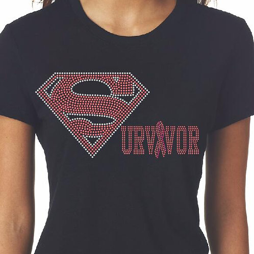Survivor Fitted Tee