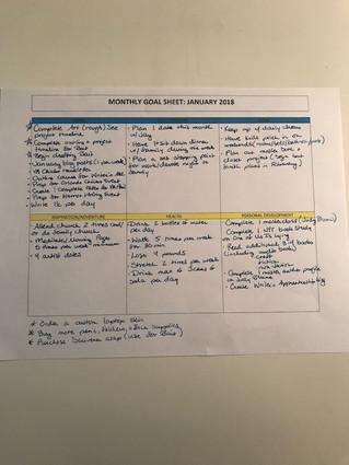 January Roadmap