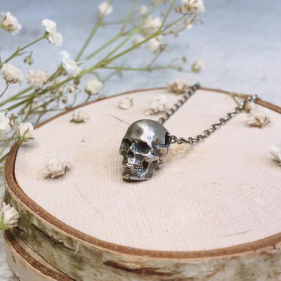 Anatomical Skull Necklace