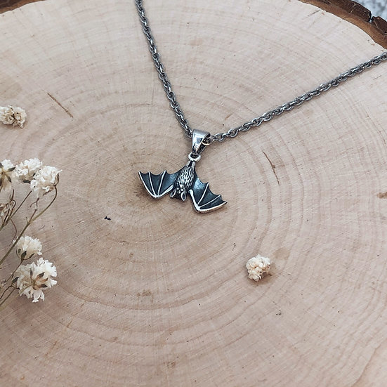 Winged Bat Necklace