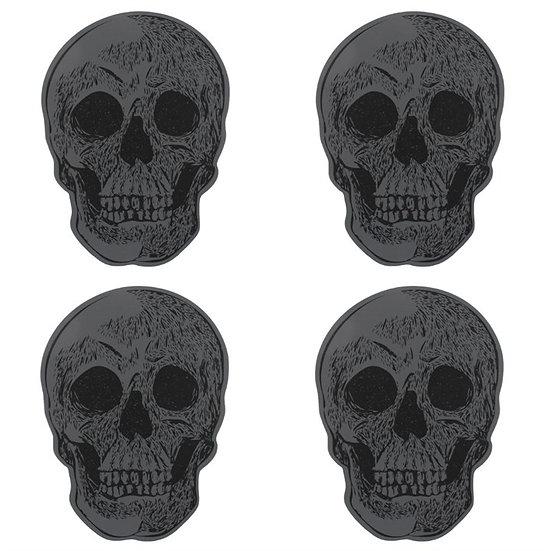 'Grimm' Skull Coasters
