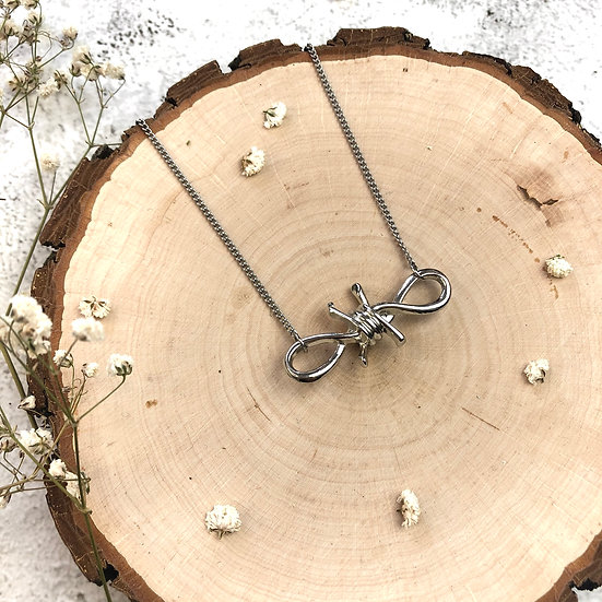 Barbara - Barbed Wire Necklace