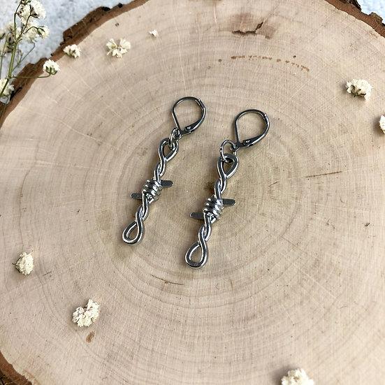 Baby Barb Hook Earrings