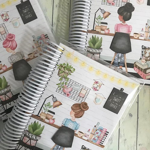 Caderno Home Sweet Office