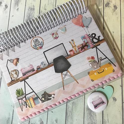 Caderno de Planejamento - Girl Boss