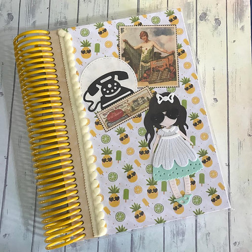 Caderno Retrô Chic