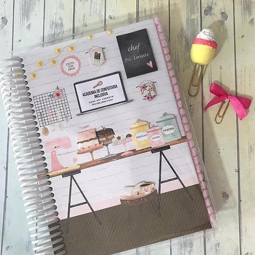 Caderno Confeitaria