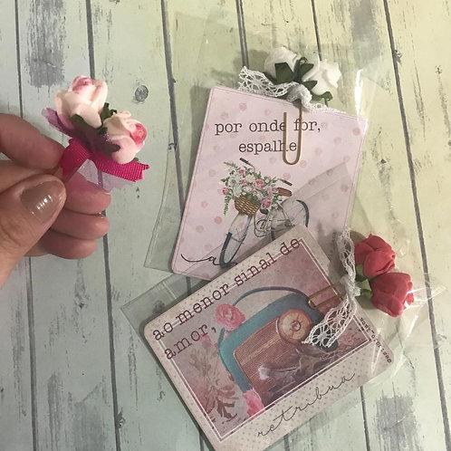 Clip Seja Flor