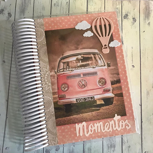 Caderno Kombi Momentos