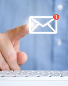 man-shirt-front-keyboard-abstract-email-
