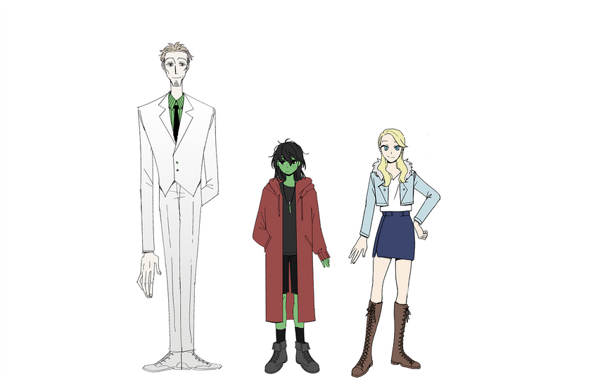 The Wizard, Elphaba, and Glinda