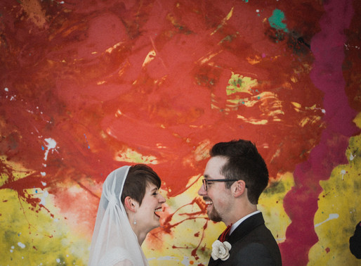Rachel + Mitchel: Madison Museum of Contemporary Art Wedding