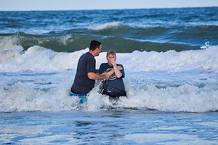 Ocean Park Baptism