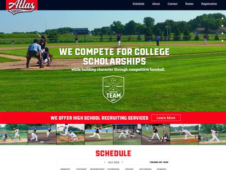 Atlas Hardball Website
