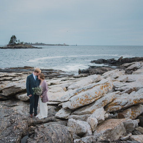 Julie + Sam: Maine Wedding