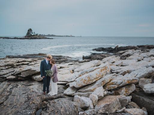 Julie + Sam: Maine Wedding