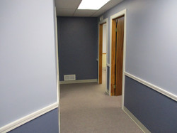 Suite One's Hallway to Offices