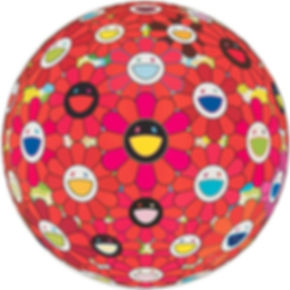 Murakami - Flowerball(3D) Red  Ball.jpg