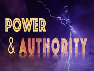 THE POWER AND AUTHORITY WITHIN US